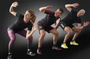 a fitness class