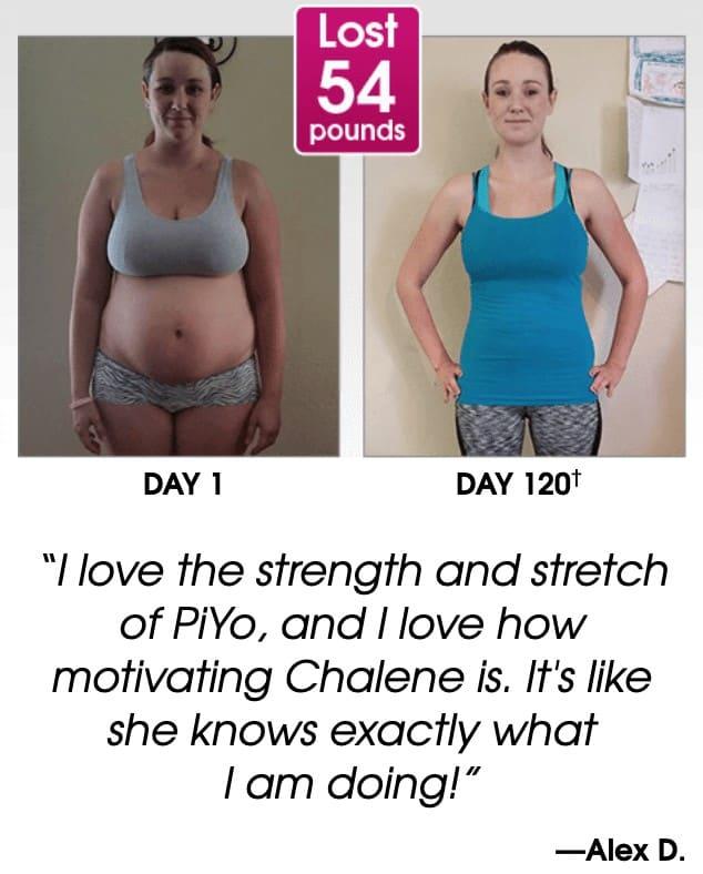 Alex's results using the program