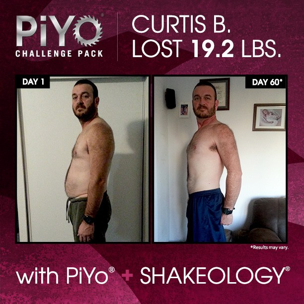 curtis weight loss and strength results