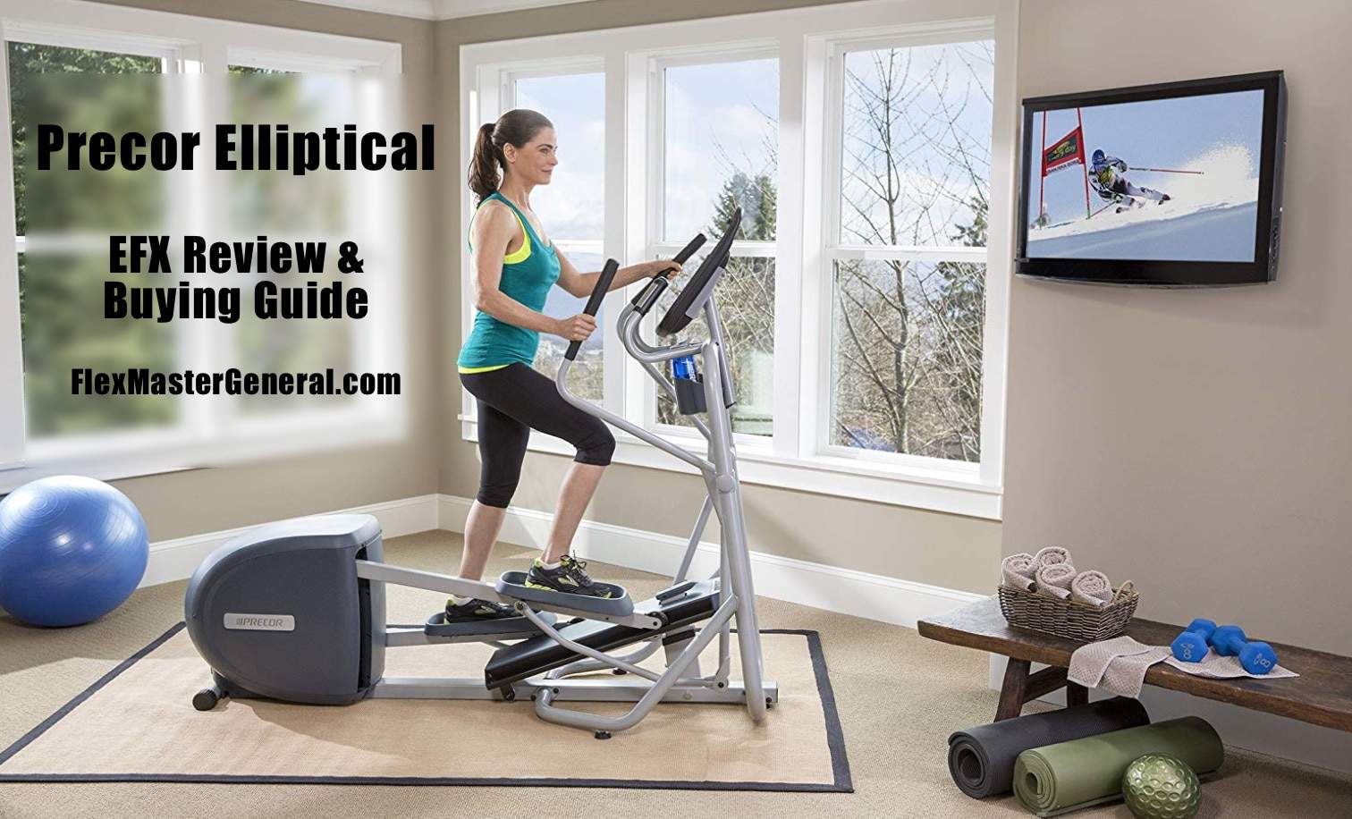 Precor Elliptical Reviews and Pricing Guide