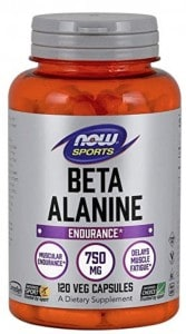 a bottle of beta alanine