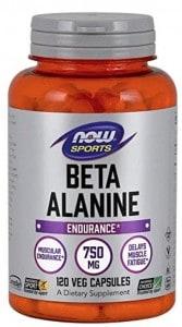 a bottle of beta alanine