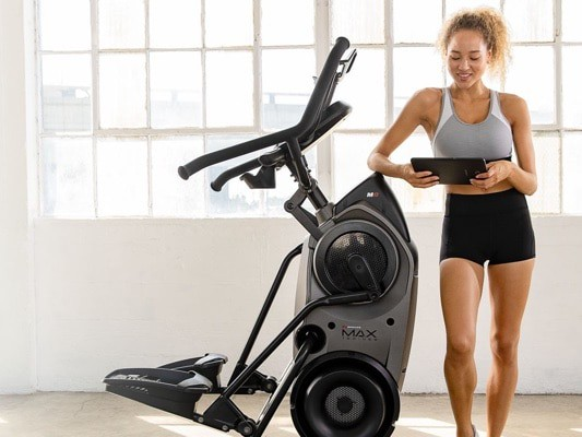 a woman and her max trainer m8