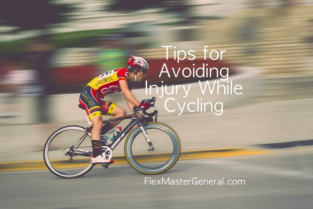 how to avoid injury while cycling