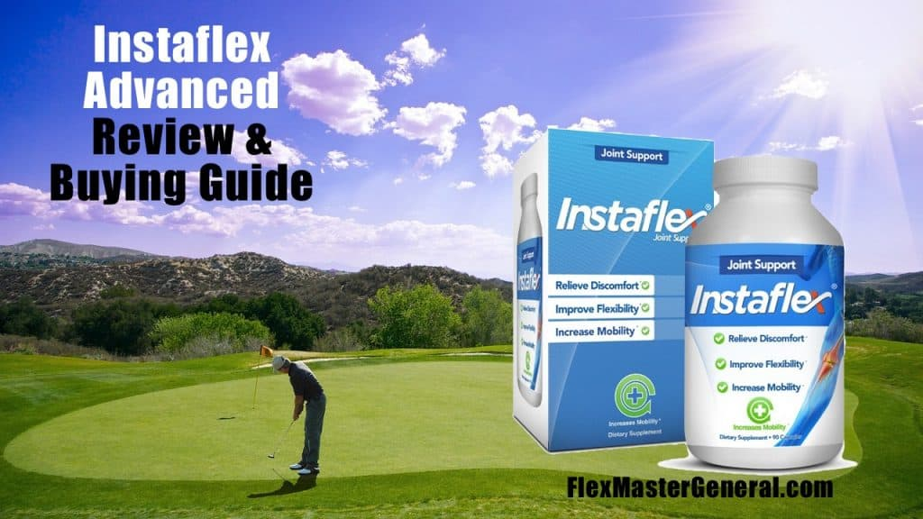 a guy plays a round of golf after taking Instaflex Advanced to help with his joint pain