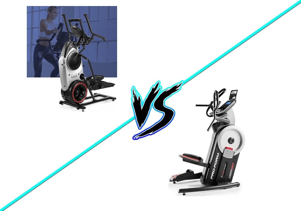 is the bowflex max trainer or proform cardio hiit trainer better