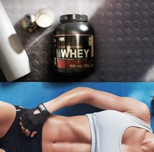 protein powder works great for building muscle