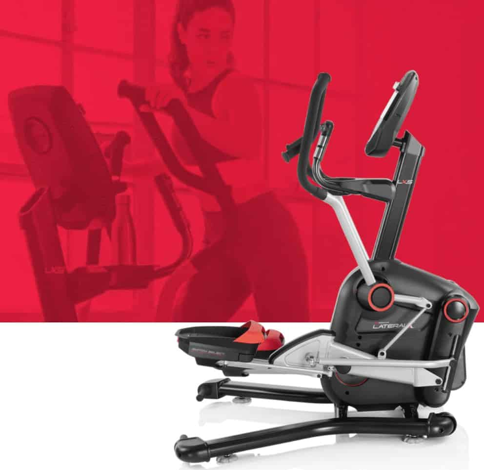 a side profile of the bowflex lateralx lx5