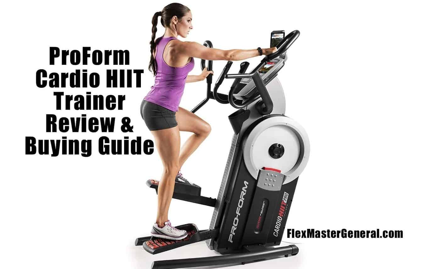 proform cardio hiit trainer user testimonials and pricing guide