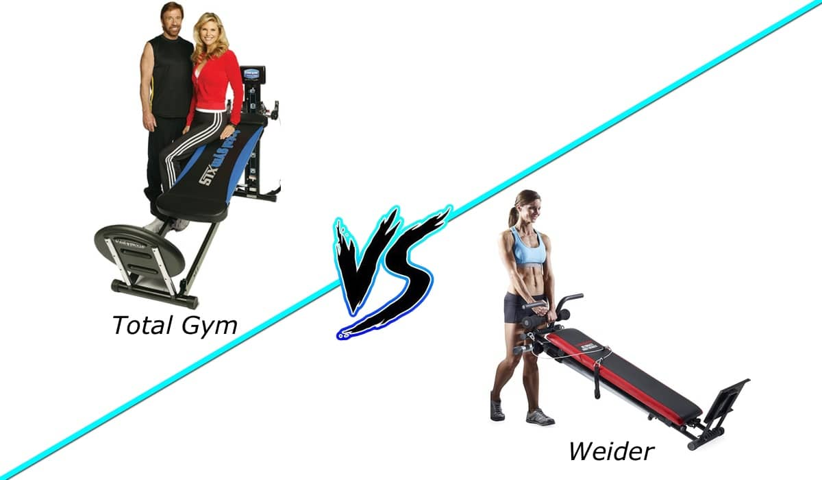 total gym vs weider ultimate body works