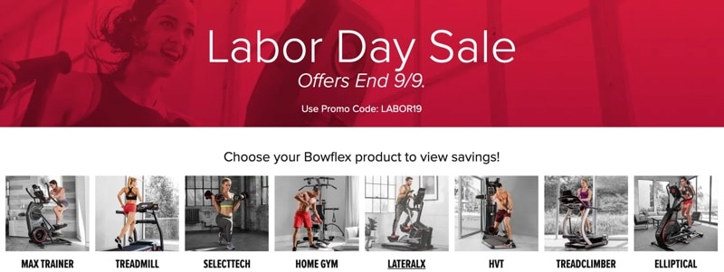 Their new Labor Day Sale announced