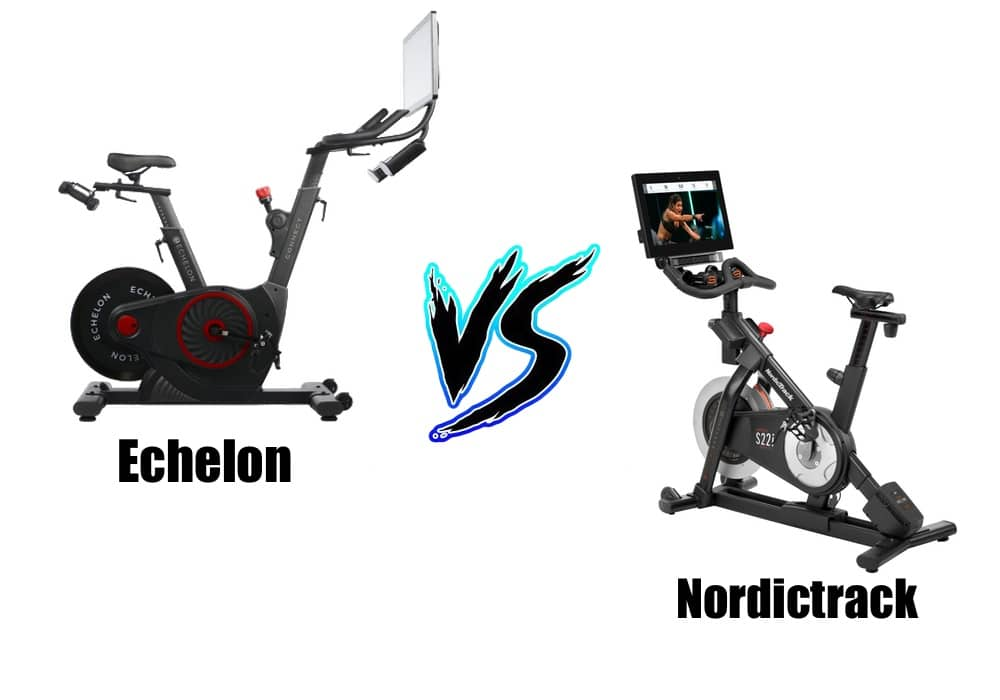 flexmastergeneral compares the Echelon Smart Connect to the Nordictrack Studio Cycle