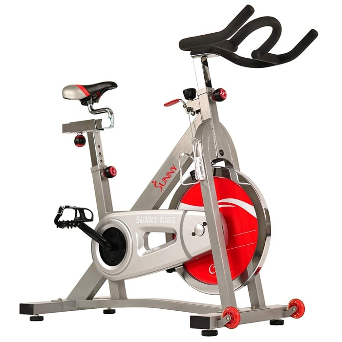 side profile of sunny exercise bike