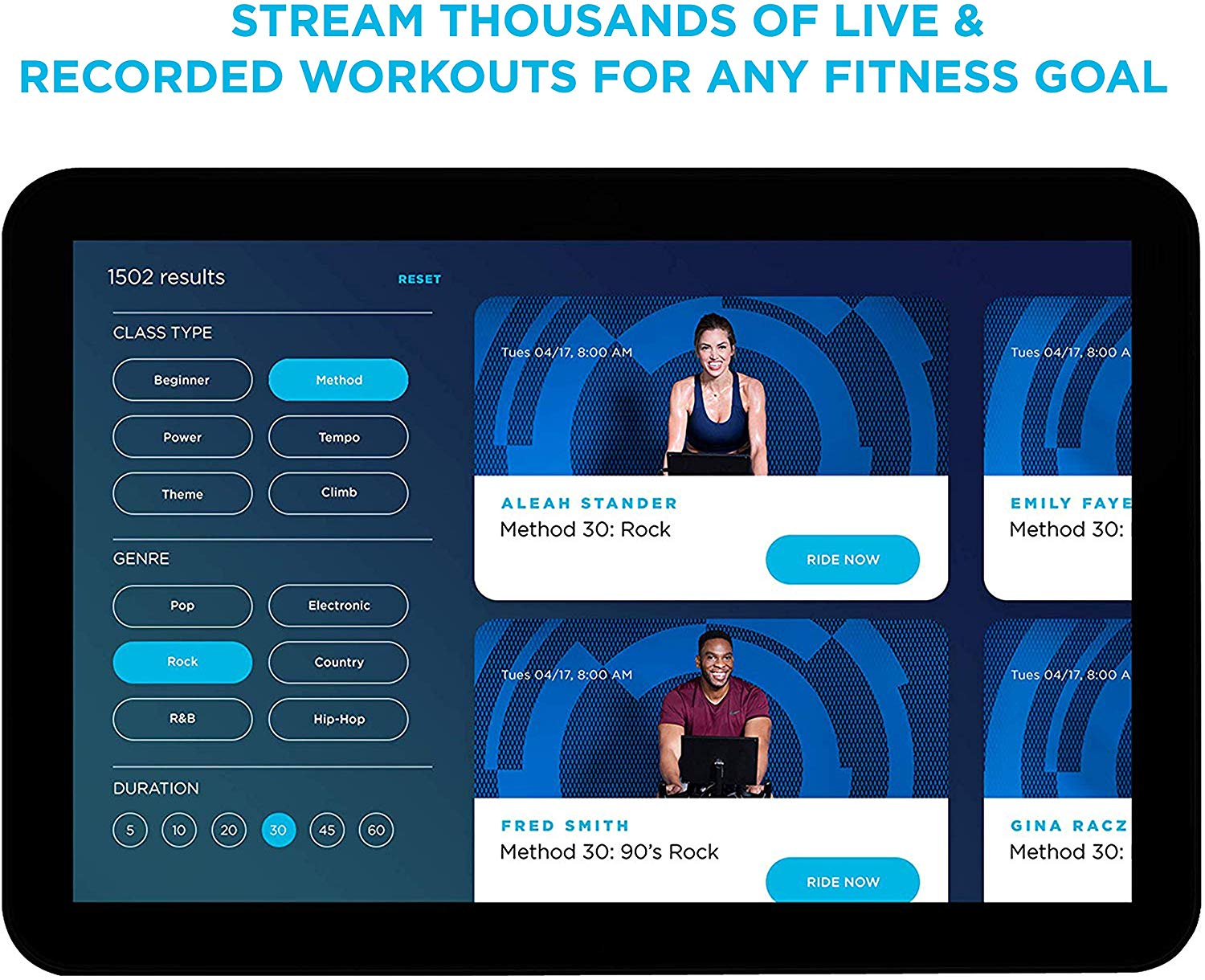a look at their app and workouts