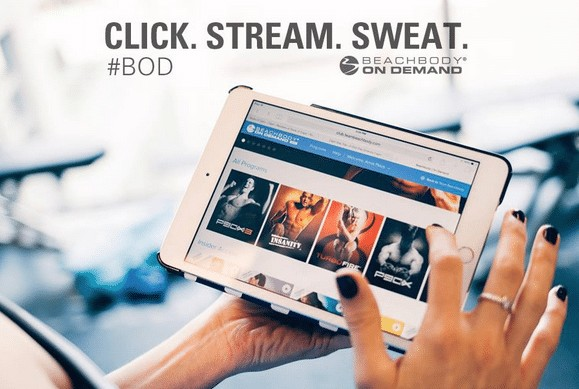 beachbody on demand in-home workout app