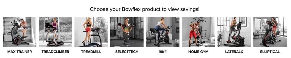 bowflex equipment sale