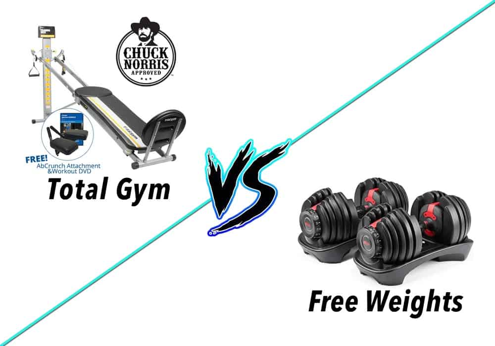 total gym vs free weights